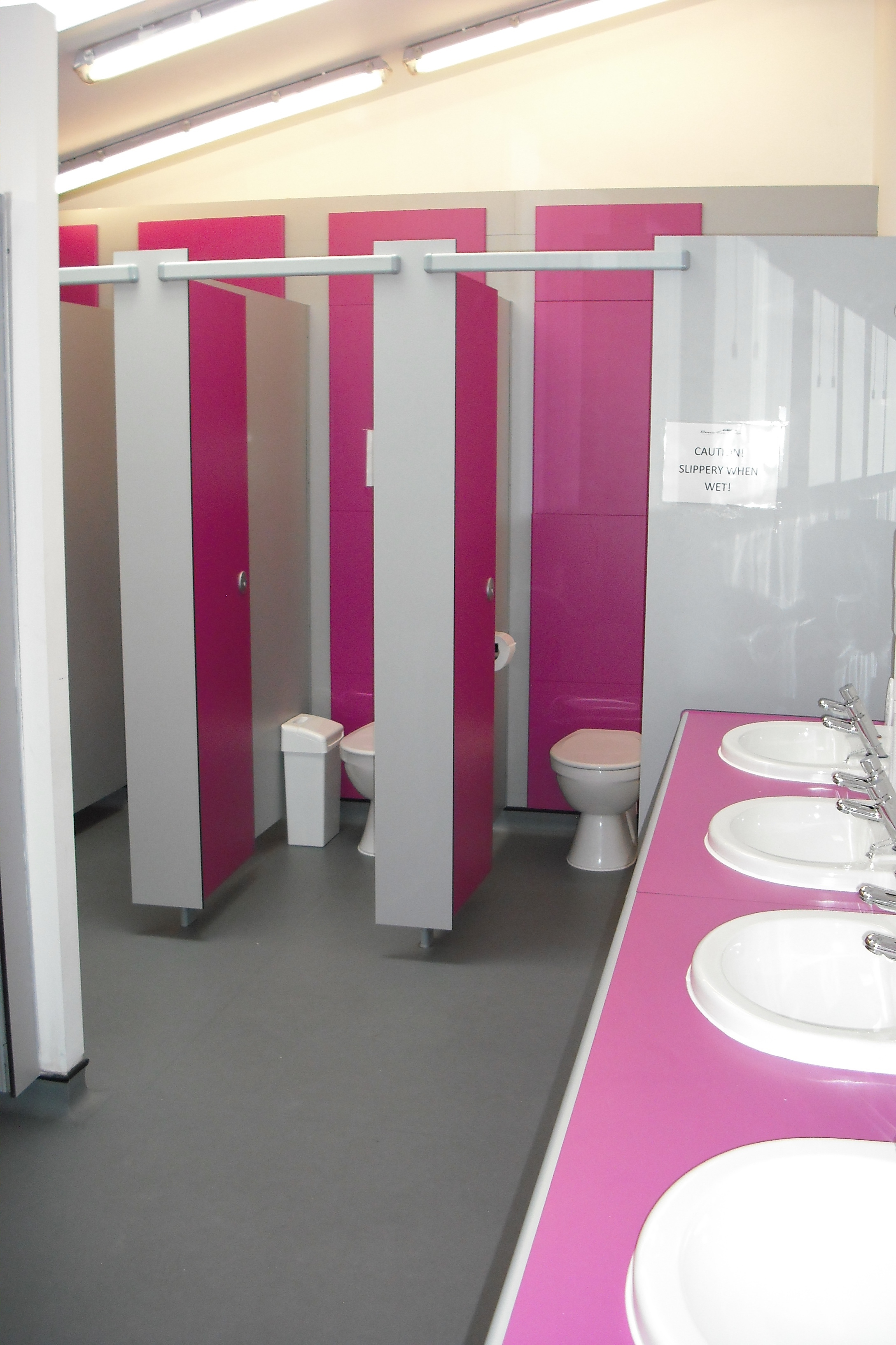 Ladies Changing room and Toilet